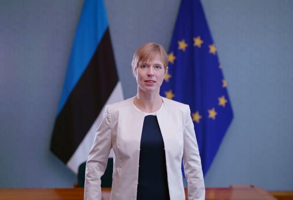 VIDEO! President Kersti Kaljulaid: noored, tulge 100% valima!