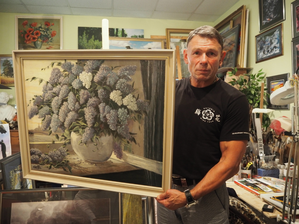 SILMAD JOONISTAVAD, KÄED JÄÄDVUSTAVAD! Kunstnik Nikolai Bleskov avab Maardus näituse