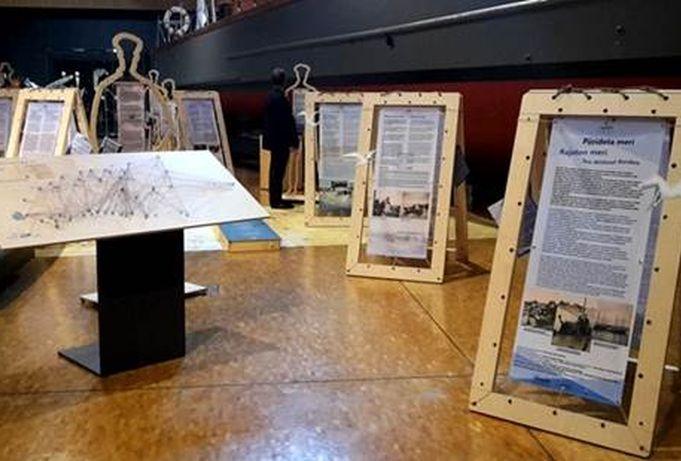 """Rändnäitus """"Piirideta meri"""" jõudis Soome Meremuuseumisse"""