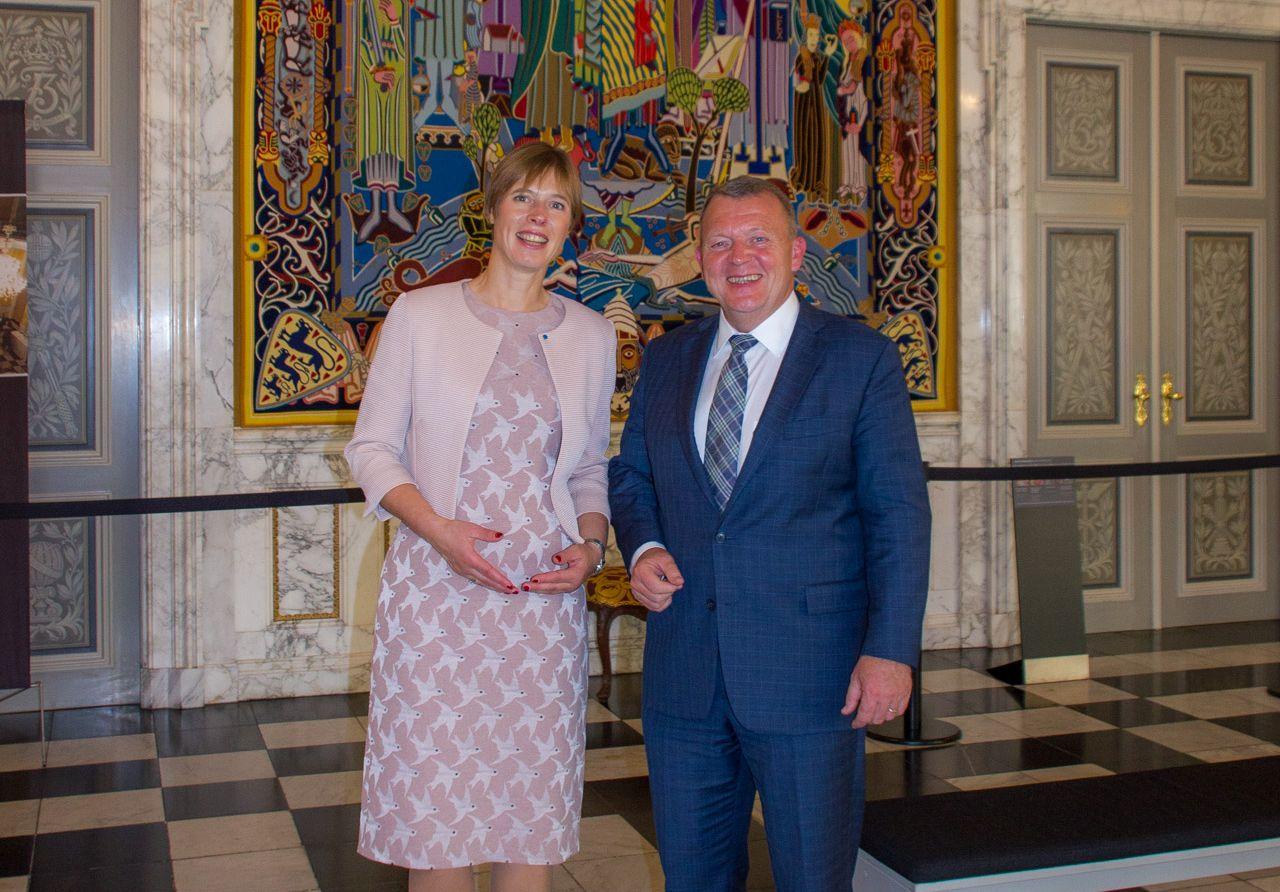 President Kersti Kaljulaid:  Eesti ja Taani on digitaalse ühiskonna esiriigid