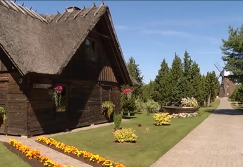 Video! Saaremaal asub lambaparlamendi ja tuulikuga kaunis talu