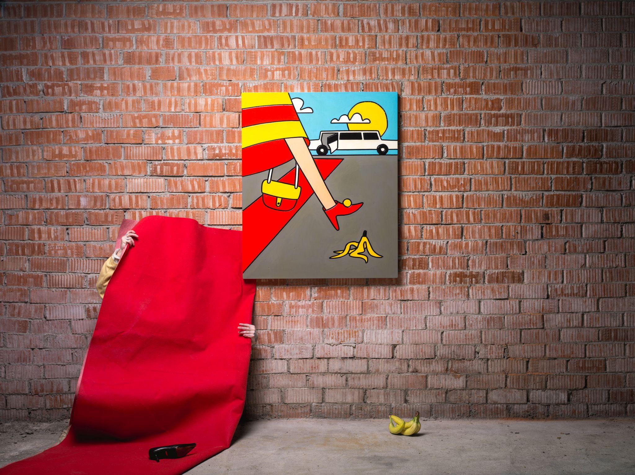 Disainiööl näeb Rotermanni kvartali pop-up kodus humoorikat kunsti