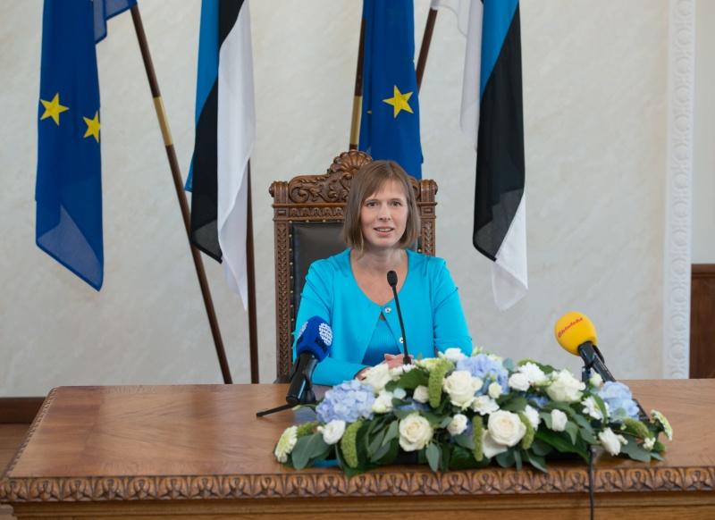 President Kersti Kaljulaid sõidab visiidile Ukrainasse