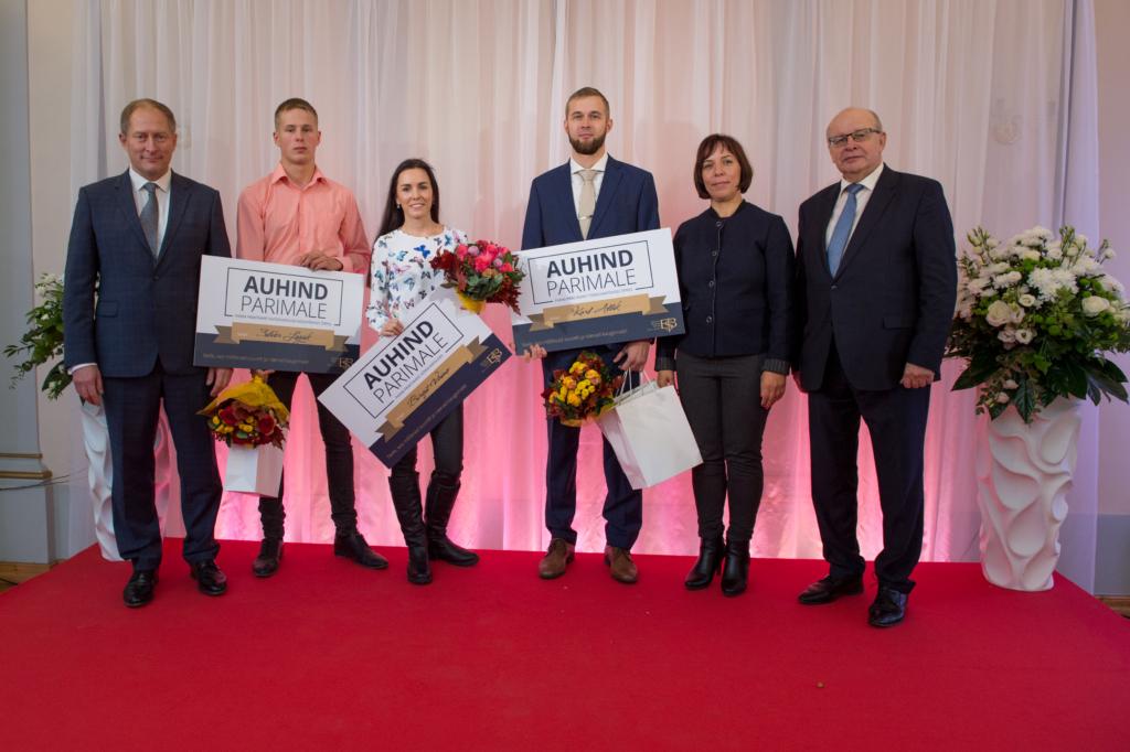 Tunnustus! Parimad praktikandid on Birgit Vaino, Silver Leppik ja Karl Allik