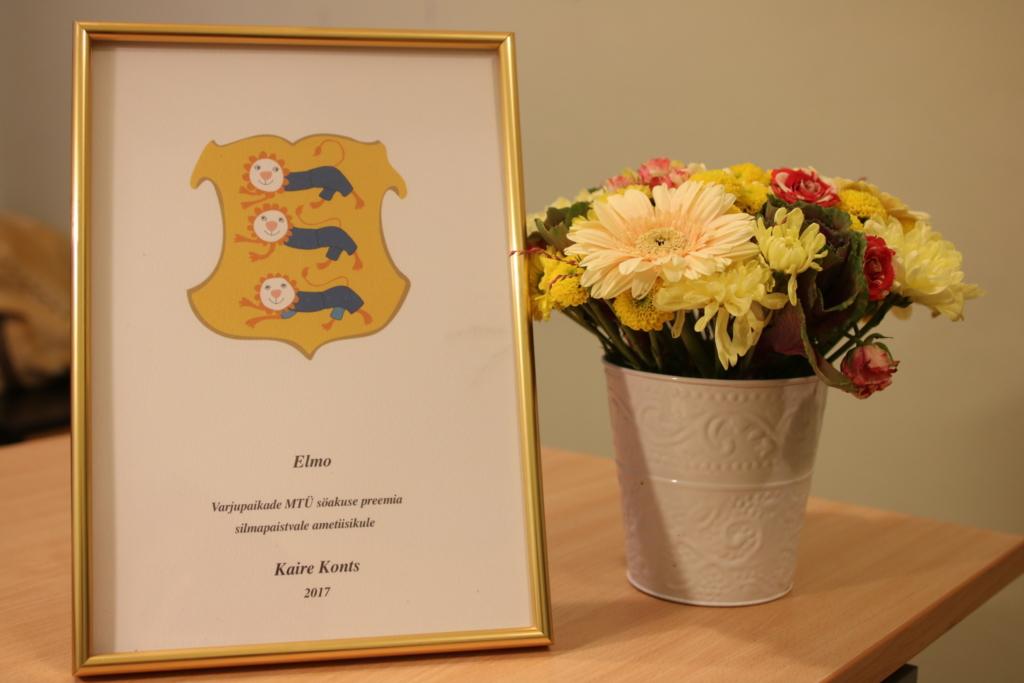 Tänavuse Elmo preemia pälvis politseinik Kaire Konts