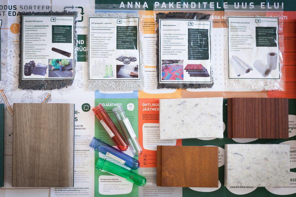 Kuidas tehakse plastpudelitest spordisärgid ja kõvaplastist puidu imitatsiooniga mööbel?
