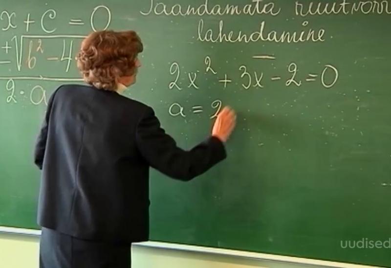VIDEO! Uuel aastal tõuseb õpetajate keskmine palk 1380 euroni kuus