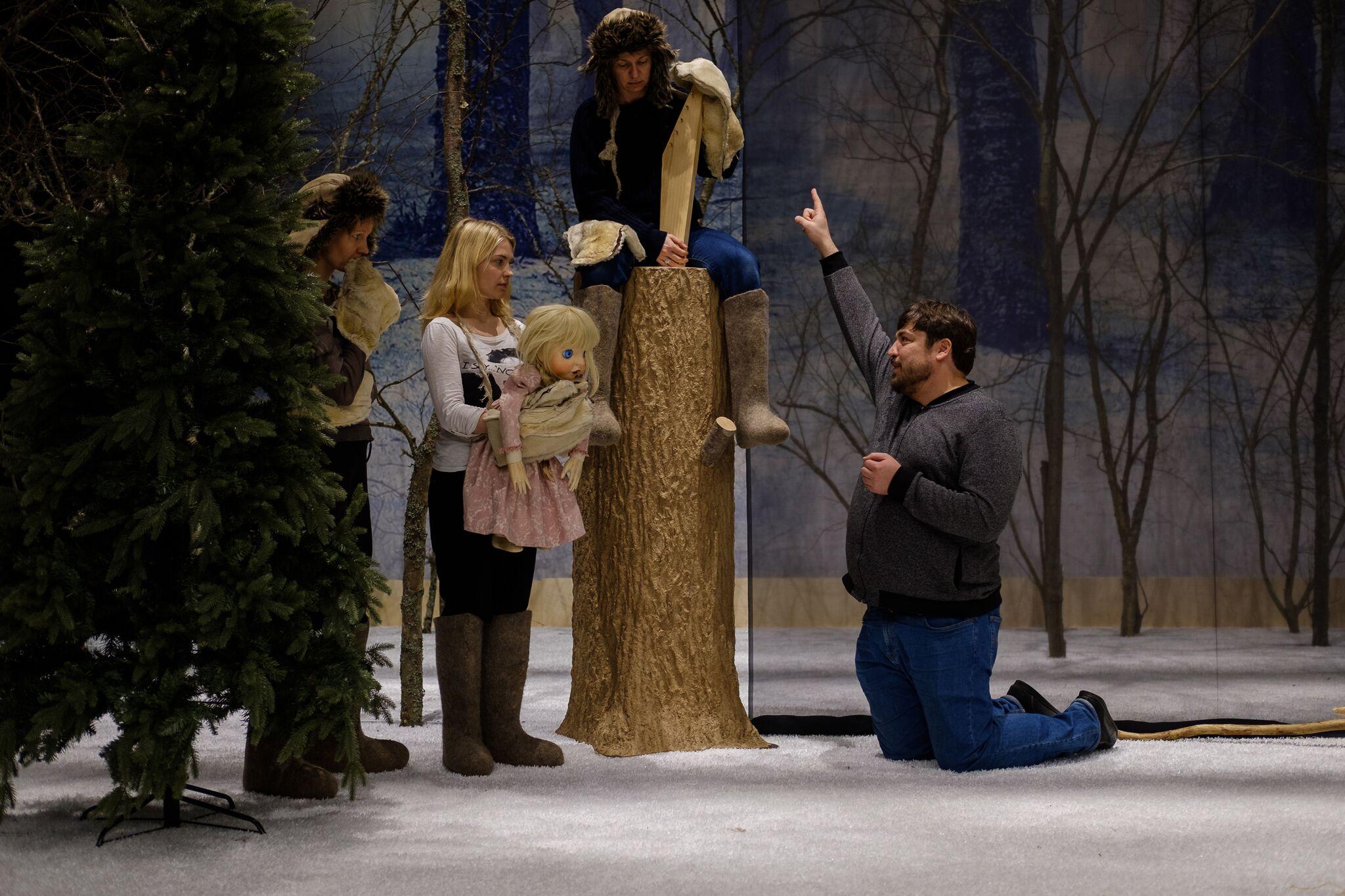 """NUKU teatris esietendub läbi aastasadade rändav """"Eesti jõulud"""""""