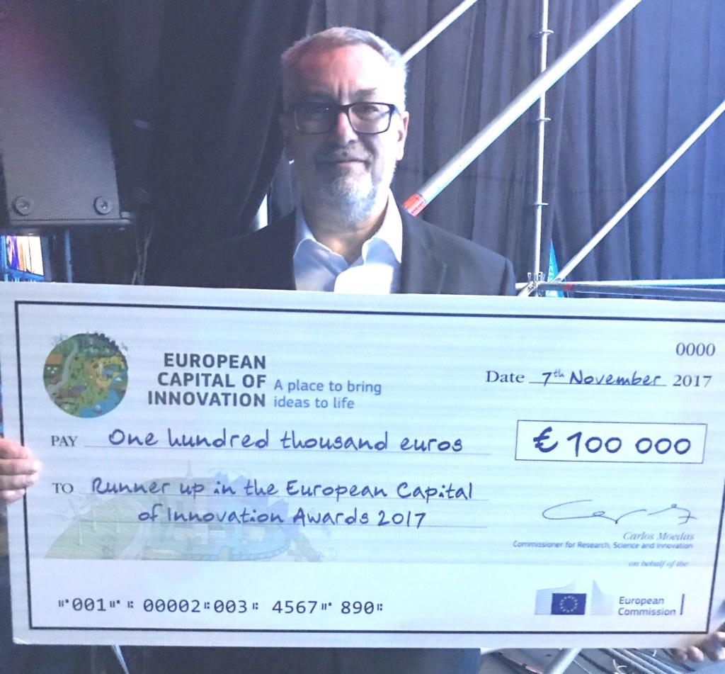 Palju õnne pealinnale! Tallinn saavutas Euroopa Innovatsioonipealinna konkursil väärika koha