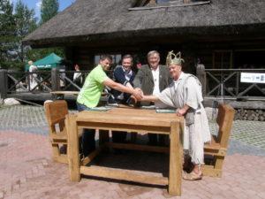 Koostööleppe allkirjastamine