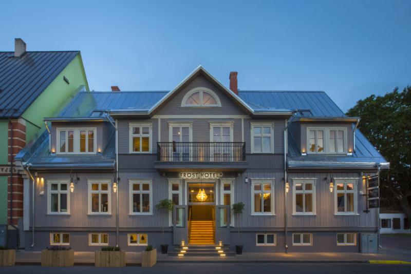"""TUNNUSTUS! Eesti parim Boutique hotell on """"Frost"""""""