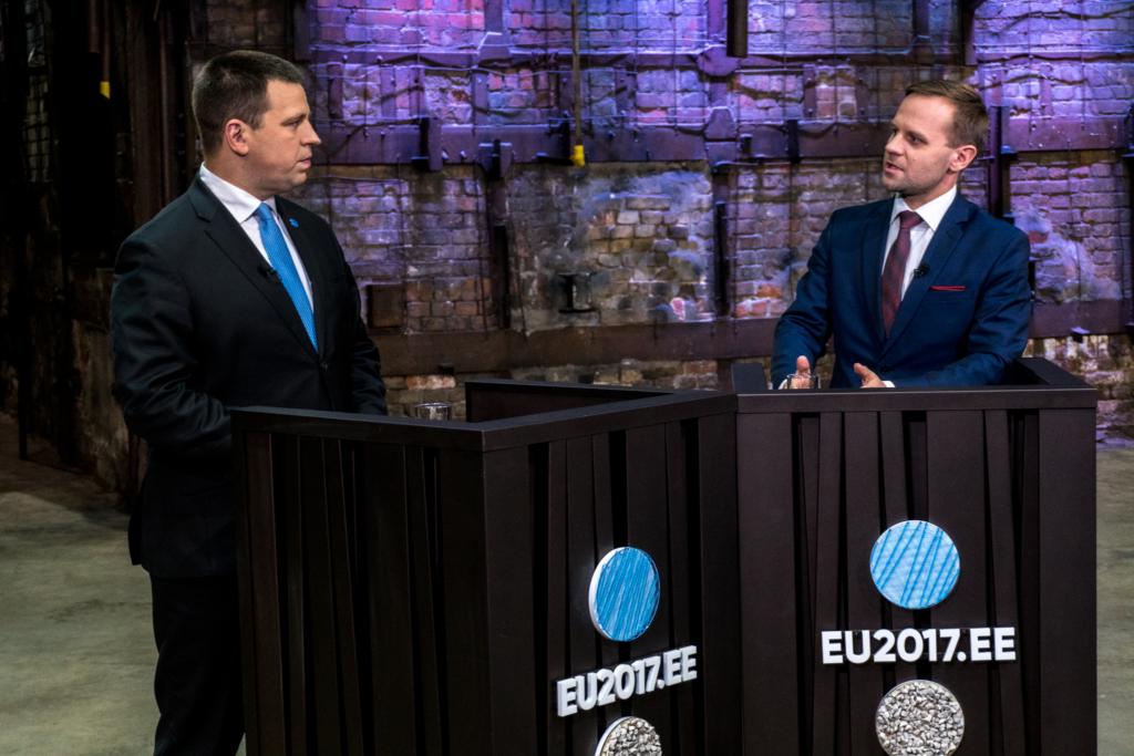 VIDEO! Jüri Ratas aastalõpuintervjuus Tallinna TV-le: fookuses peab olema see, et Eesti rahvus kasvaks