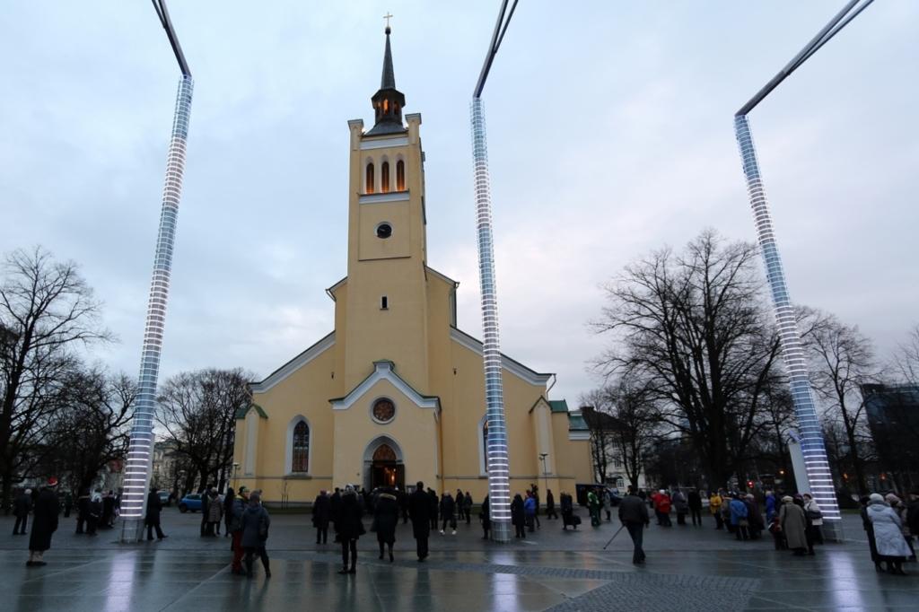 Tallinna Jaani kirik tähistas 150. aastapäeva