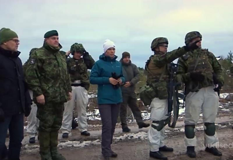 VIDEO! President Kersti Kaljulaid: tööandjad ja ülikoolid julgustasid reservväelasi õppusel osalema