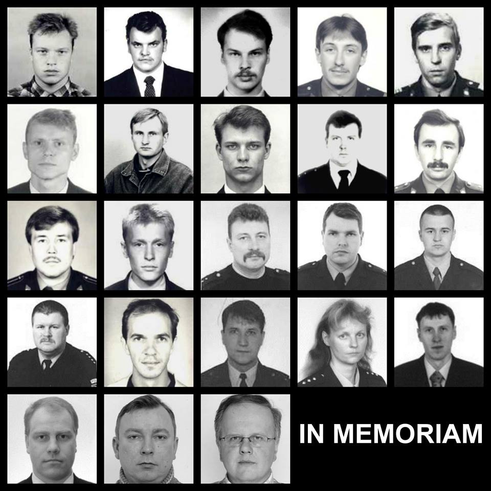 Täna langetavad politseinikud hukkunud kolleegide auks pea