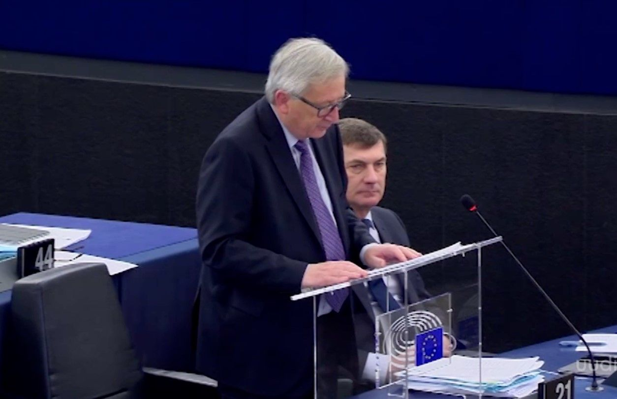 VIDEO! Jean-Claude Juncker pidas Eesti eesistumise õnnestunuks ja jagas kiidusõnu peaminister Ratasele