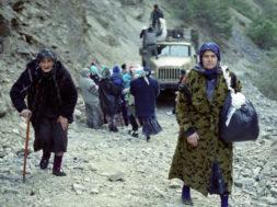 Kaader filmist Tšetšeenias näeme
