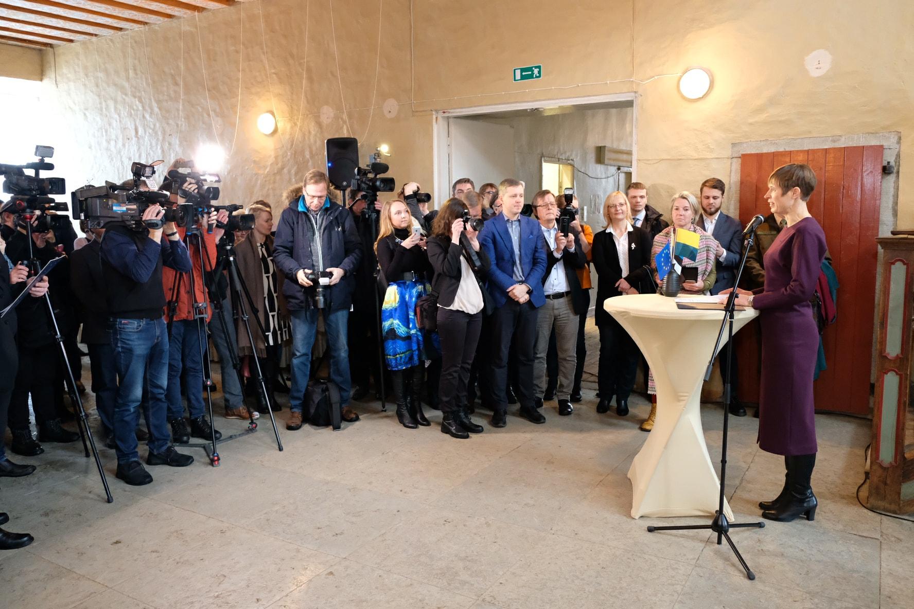 President Kaljulaid: Narva on Eesti järgmine suur edulugu