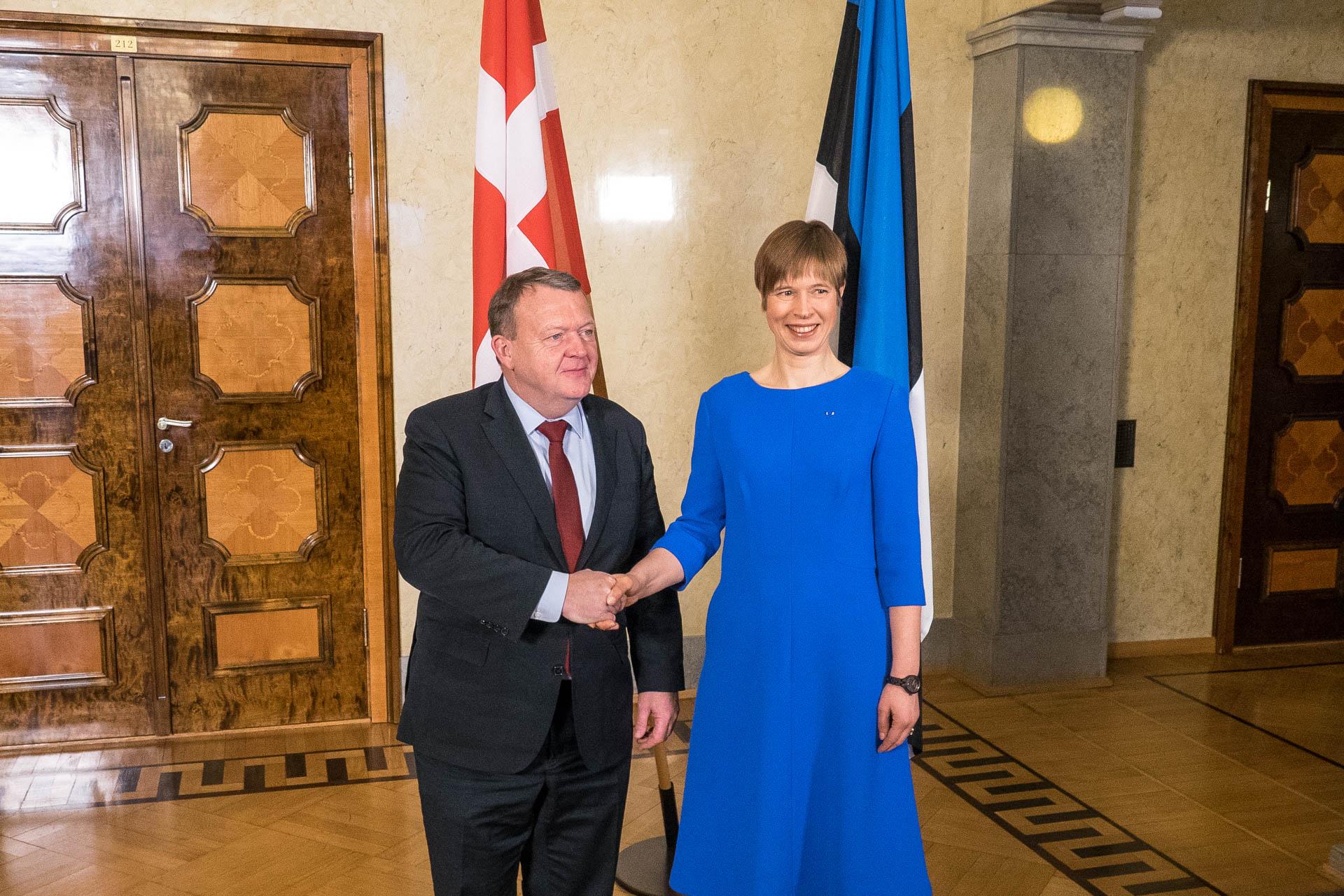 Riigipea ja Taani peaministri kohtumine keskendus julgeolekuküsimustele