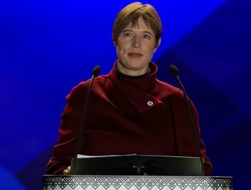 President Kersti Kaljulaid aastavahetusel: kelle mõttest saab tegu, see sõltub pealehakkamisest