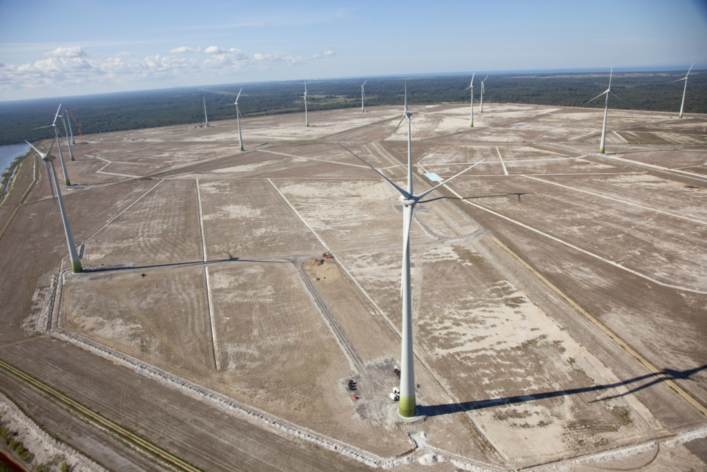 Enefit Greeni tuulepargid tootsid möödunud aastal 16% rohkem elektrit kui aasta varem