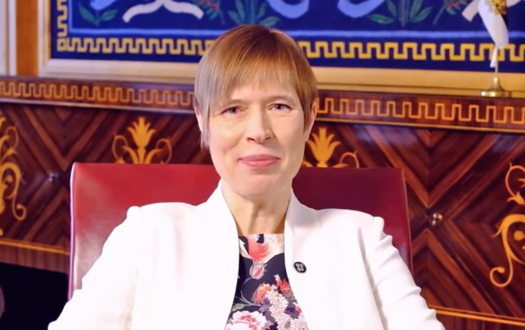 VIDEO I Tänavune pressisõber on president Kersti Kaljulaid