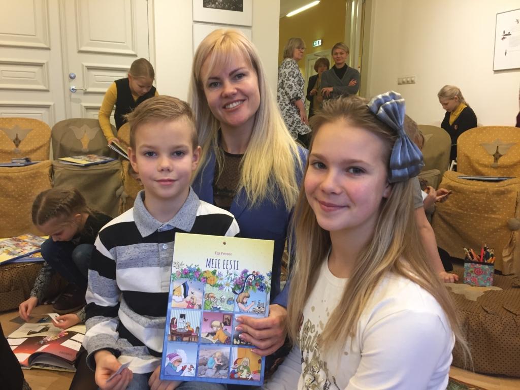 """Epp Petrone raamatut """"Meie Eesti"""" on nädalaga müüdud üle 10 000 eksemplari"""