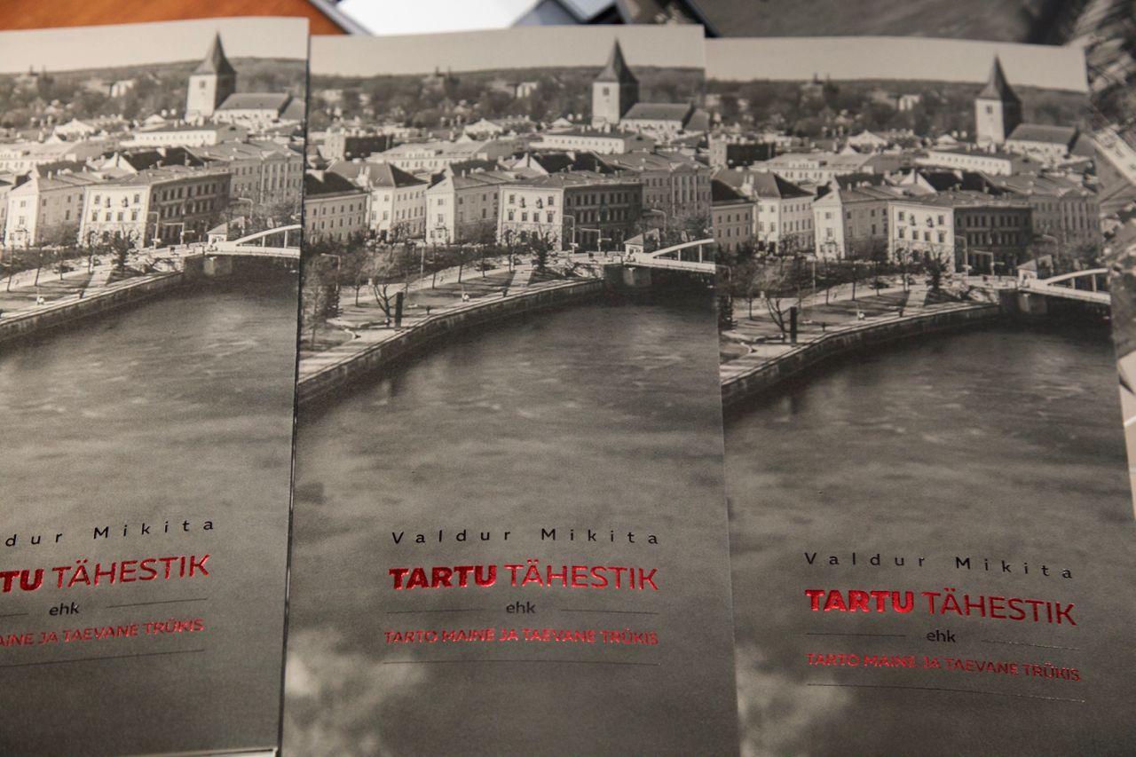 """Tunnustus! """"Tartu tähestik"""" jõudis Eesti kauneimate raamatute hulka"""