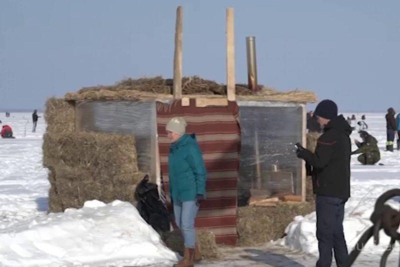 Video! Peipsi järvele püstitati ajaloolise taustaga kalaküla
