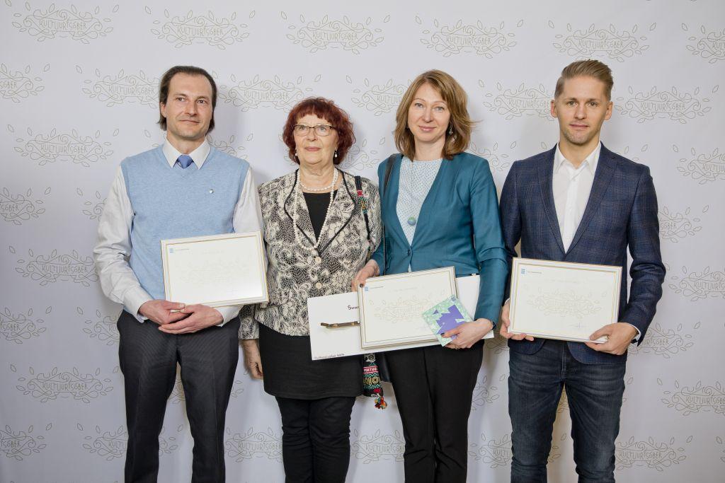 GALERII! Selgusid konkursi Kultuurisõber 2017 laureaadid