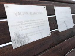 Mälestuspink Pirita kloostri juures. Foto Pirita Linnaosa Valitsus (2)