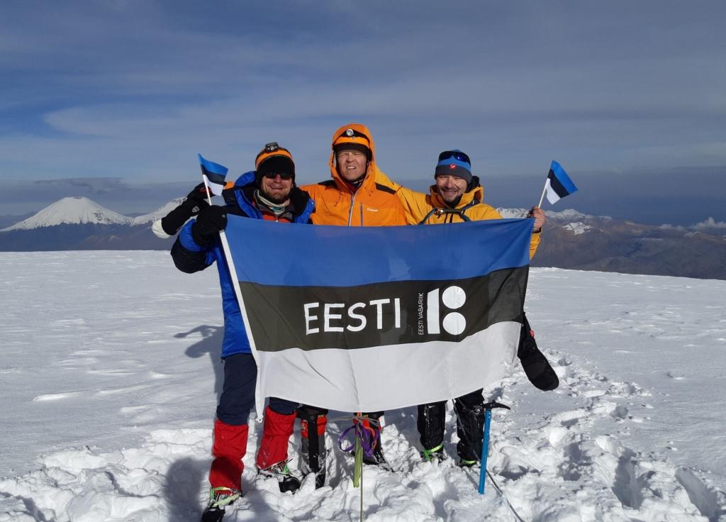 Eestlased vallutasid Boliivia kõrgeima tipu