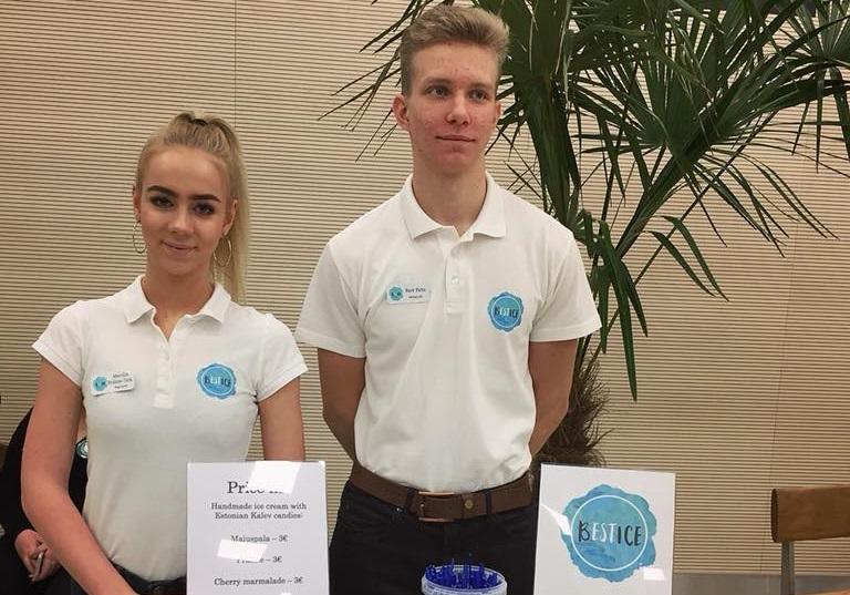 Parima rahvusvahelise õpilasfirmade tiitli pälvis Eesti õpilasfirma Best Ice