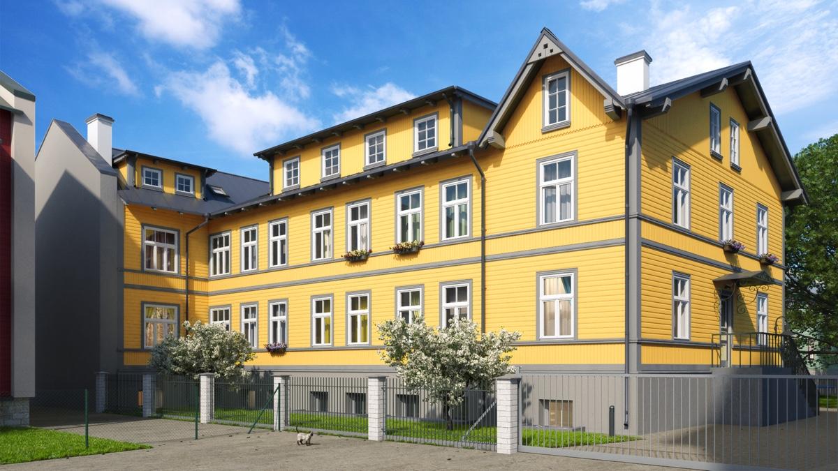 Tallinna kesklinnas rekonstrueeritakse tsaariaegne puitmaja