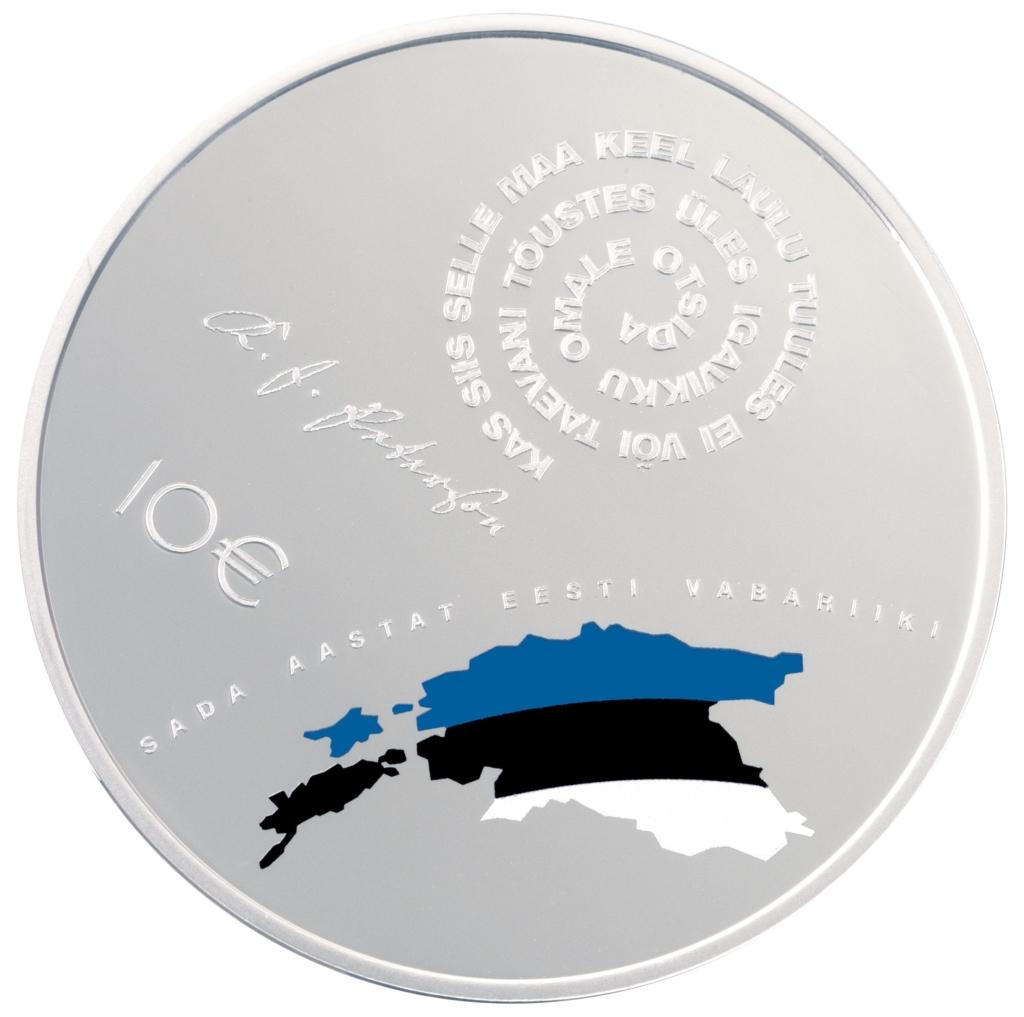 Sajandi elanud eestimaalasi peetakse meeles EV 100 meenemündiga
