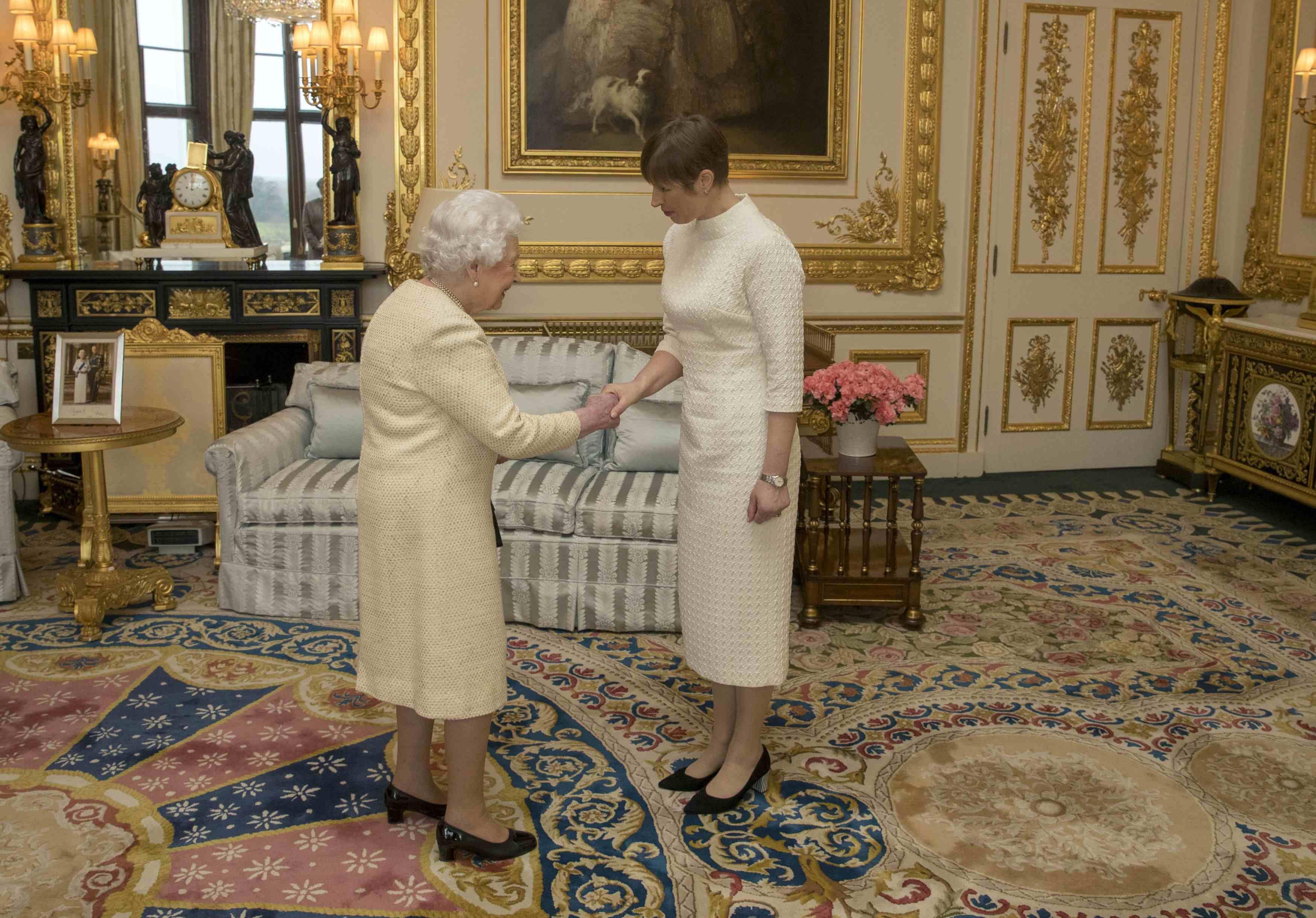 President Kaljulaid kohtus kuninganna Elizabeth II-ga