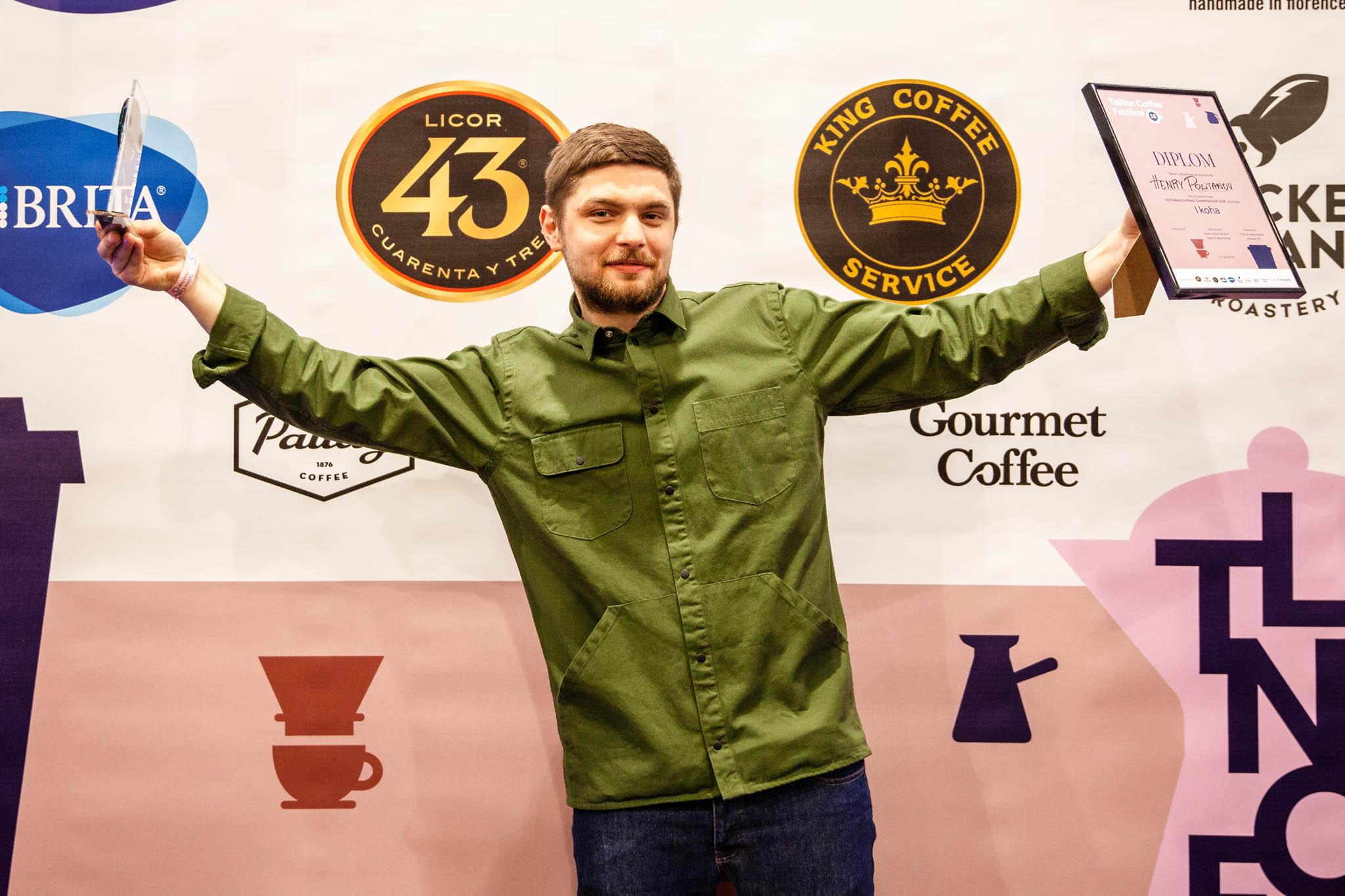 Tunnustus! Eesti parimaks kohvimaitsjaks pärjati taas Henry Politanov
