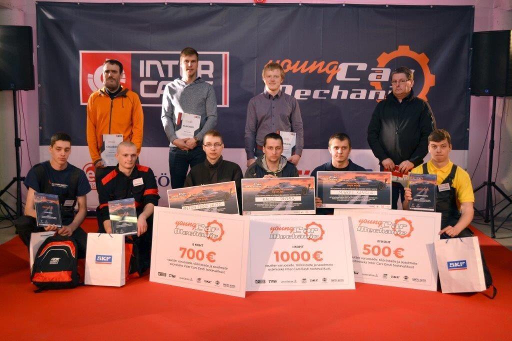 GALERII! Eesti noored automehaanikud võistlevad Poolas
