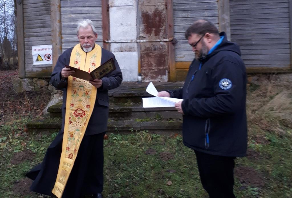 Jaan Poska ristimiskiriku juures tulevad taas talgud