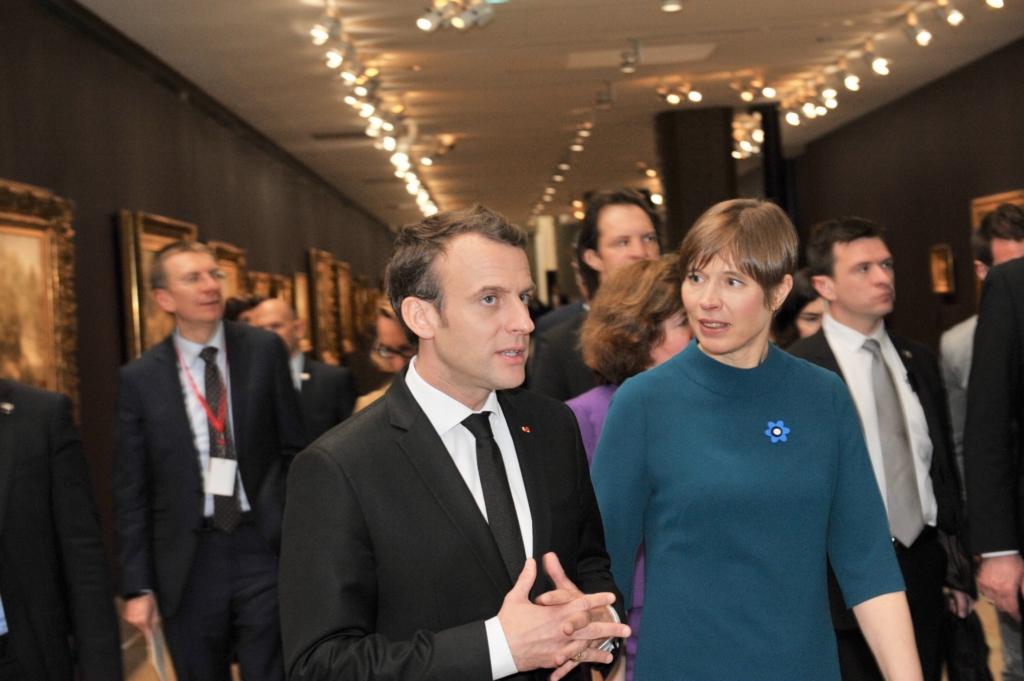 President Kaljulaid kohtus Prantsusmaa presidendi Emmanuel Macroniga