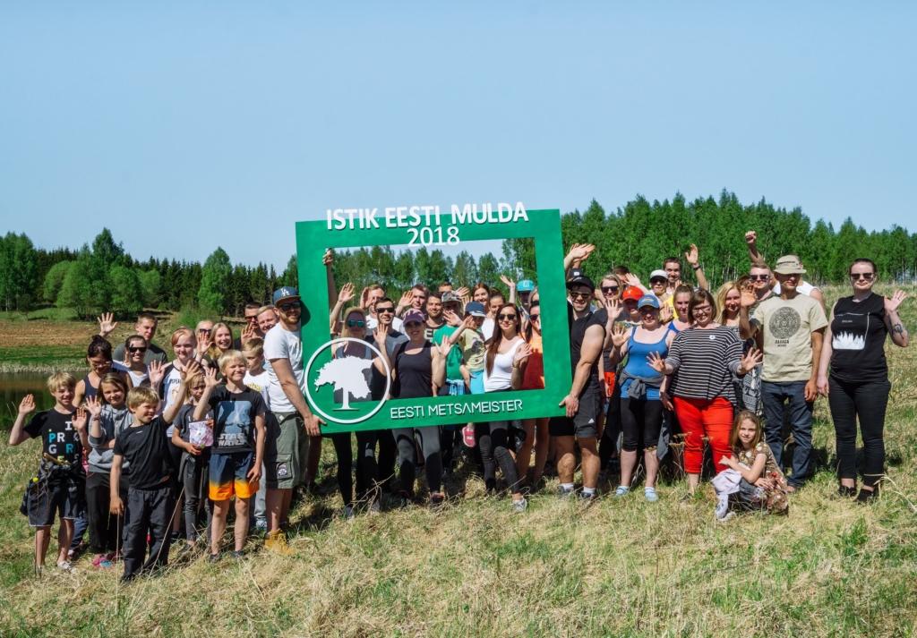"""Projekti """"Istik Eesti Mulda 2018"""" raames istutati endisele jäätmekogumisalale pea 10 000 puud"""