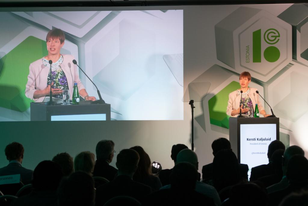 President Kersti Kaljulaid: tänapäeval ei saa ükski riik endale lubada, et ei ole digiilmas kohal