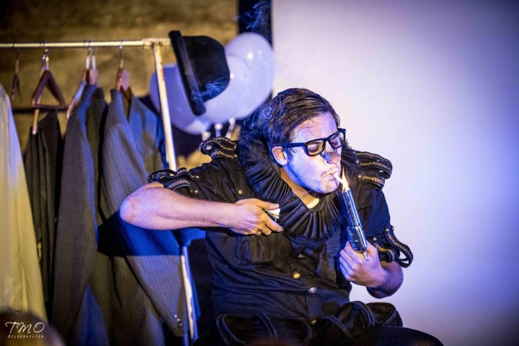 VIDEO! Saksamaa tsirkuseartist Matthias Romir esineb Haapsalus