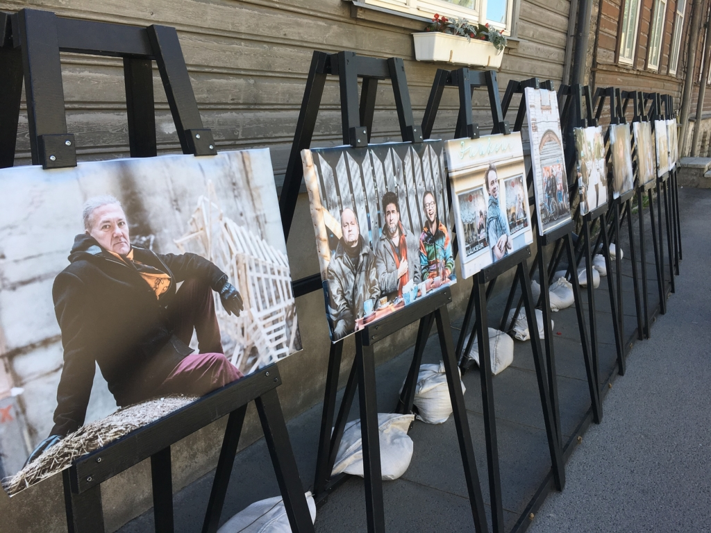 Põhja-Tallinnas avati pop-up fotonäituste sari