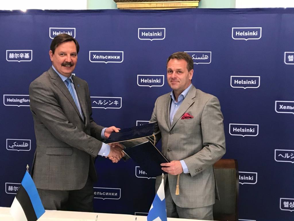 Tallinn ja Helsingi soovivad hoogustada kahe linna vahelist koostööd