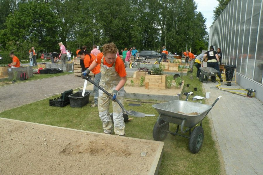 Homme selgub Türil Eesti parim noor aednik