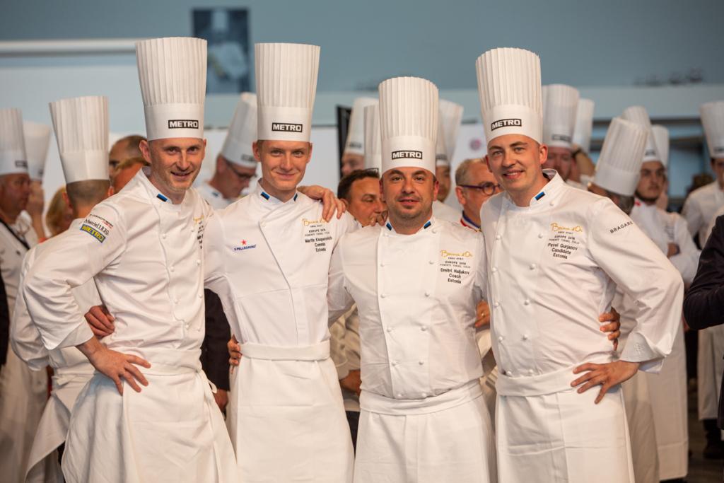 FOTOD! Eesti võistleb täna kokandusolümpial