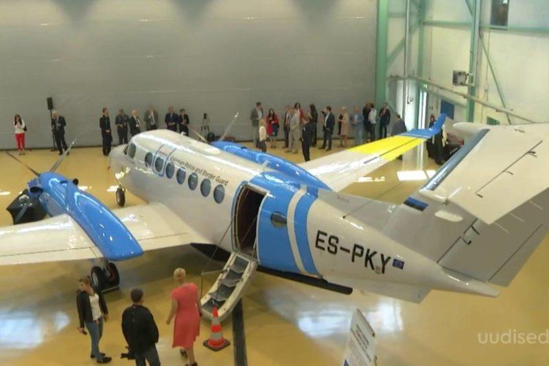 VIDEO! 19 miljonit eurot maksma läinud seirelennuk hakkab Eesti taevas töötama vähemalt kolm korda nädalas