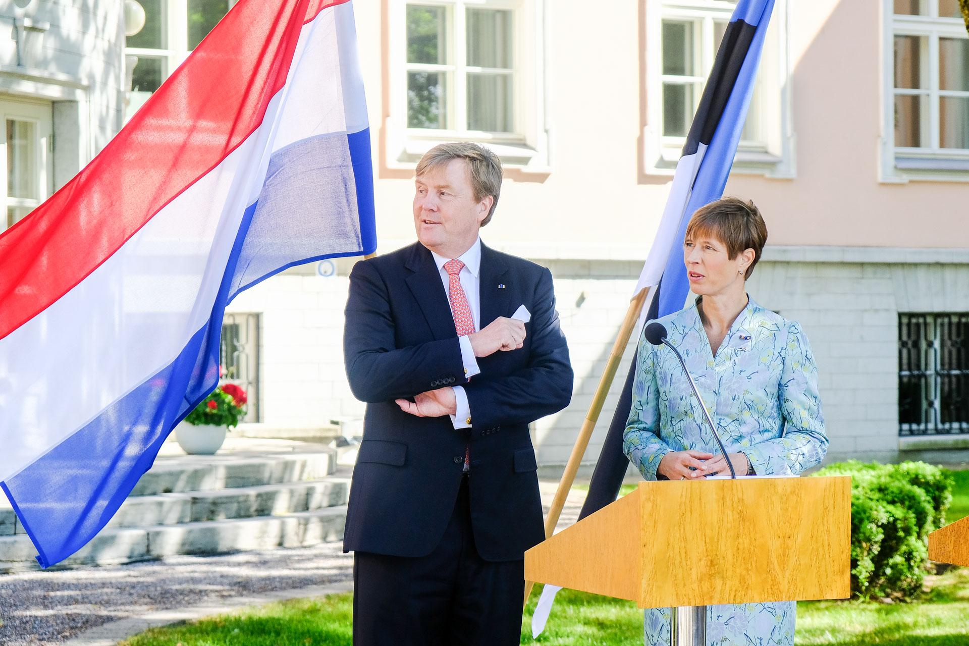 President Kaljulaid kohtus täna Madalmaade kuninga Willem-Alexanderiga