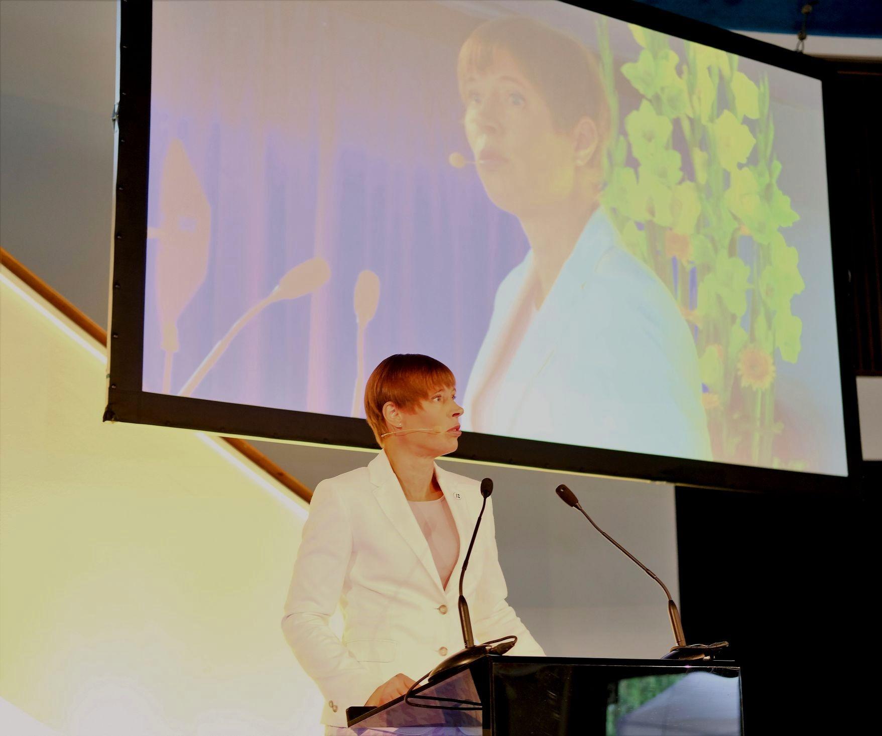 President Kersti Kaljulaid: lubav õigusruum on oluline
